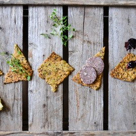 Nordic Crunchy - crisp bread filled with seeds
