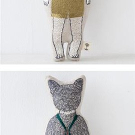 CORAL&TUSK - Coral&Tusk POCKET DOLL zakka kitty pocket doll ポケット付ドール ネコ