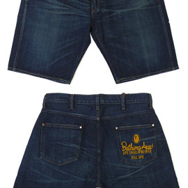 A BATHING APE - 1997 DENIM SHORTS WASH [ショーツ]