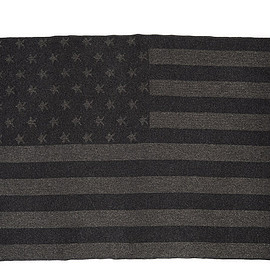 ENGINEERED GARMENTS - Wool Blanket-Stars and Stripes Dobby-Grey