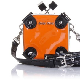 miu miu - Camera case bag - orange