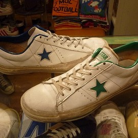 """converse - 「<used>70's converse IRREGULAR ONESTAR SHOES""""made in USA"""" size:29cm 19800yen」完売"""