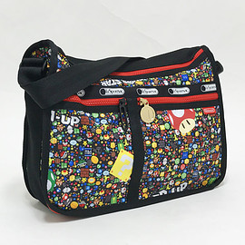LeSportsac×Nintendo - DELUXE EVERYDAY BAG  パワーアップバースト