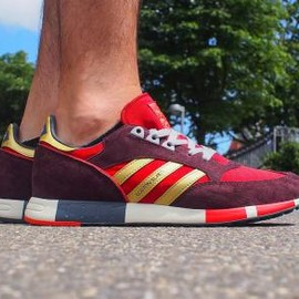 adidas originals - ADIDAS BOSTON SUPER POWER RED/GOLD/NIGHT RED