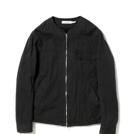 nonnative - DRIVER BLOUSON - COTTON CHINO CLOTH VEGETABLE DYED
