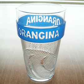 ORANGINA - stacking glass