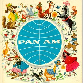 PAN AM - JET FLIGHT STORY BOOK