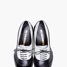 JIL SANDER - Two Tone Oxford Flats