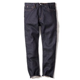 HEAD PORTER PLUS - SWEAT DENIM PANTS