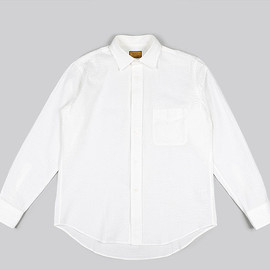 BROWN by 2-tacs - Semi Wide Shirts-White