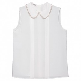 miu miu - Miu Miu SABLe SLEEVELESS BLOUSE 1