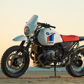 BMW - nineT the Paris-Dakar treatment