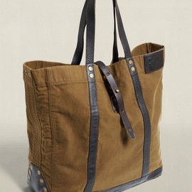 RRL - Vintage Canvas & Leather Tote - RRL - RalphLauren