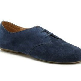 Clarks - Fable Lane  Navy Sued