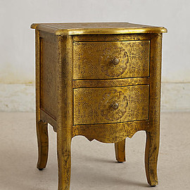 Anthropologie - Hand-Embossed Nightstand