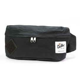Drifter - CLASSIC HIP SACK M (BLACK) -MARTEXIN WAXED COTTON-
