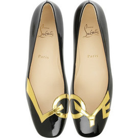 Christian Louboutin - Love flat shoes
