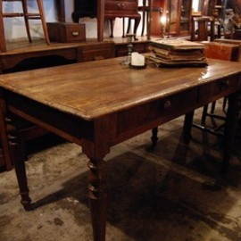 Old wood table - table