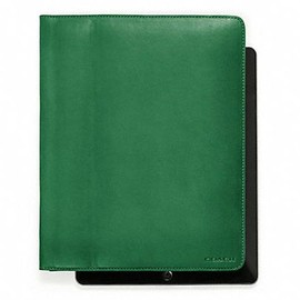 COACH - BLEECKER LEATHER ipad TABLET CASE