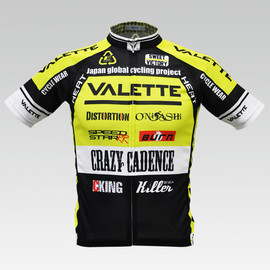 VALETTE - SPEED Lime yellow 半袖 VALETTE A-LINE