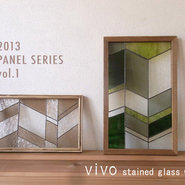 vivo stained glass works - ステンドグラス パネル