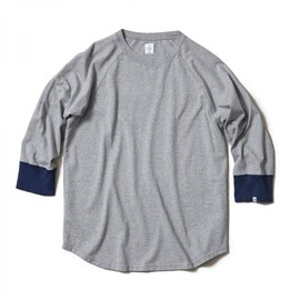 HEAD PORTER PLUS - RAGLAN 3/4 SLEEVE TEE GREY