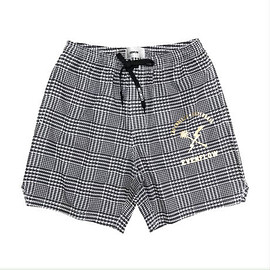 "EVERFLOW - ""TABI LABO掲載"" PALM CHECK POOLSIDE SHORTS"