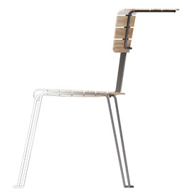 Jaklitsch / Gardner Architects - One-Quarter Table/Chair