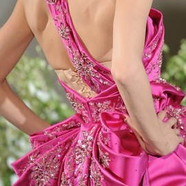 Christian Dior - Hot pink Dior haute couture