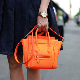 CELINE - luggage orange