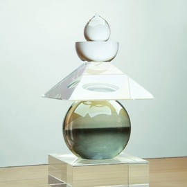 "Hiroshi Sugimoto - Five Elements ""Sea Scape"", Optical Glass Sculpture"