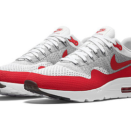 "NIKE - Nike Air Max 1 Ultra Flyknit ""Sport Red"""