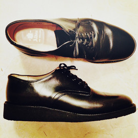 Alden - chrome excel leather plain toe CUSTOMIZED