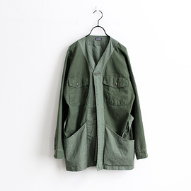 HURRAY HURRAY Composition - Remake Army Shirt Gown