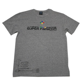 THE KING OF GAMES - スーファミ展開図 Tシャツ MixGery