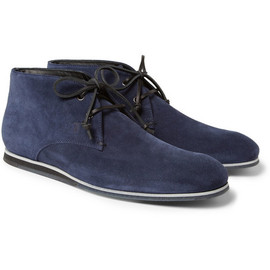 TOD'S - Tod's No_CodeRubber-Sole Suede Desert Boots