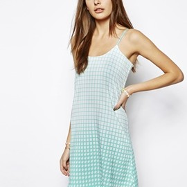 ASOS - Lavish Alice Slip Cami Dress in Houndstooth Print