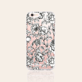 bycsera - Floral iPhone 6s Case Clear iPhone 6s Plus Case Floral iPhone 6 Case Vintage iPhone 6S Case