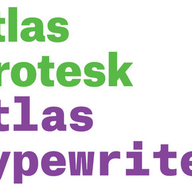 Commercial Type - Atlas Grotesk