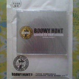BOØWY - BOOWY HUNT special CD-ROM edition