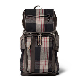 MARNI - Flannel Backpack - Check Collection