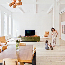 NY, Greenwich Village - James Jebbia's Greenwich Village Loft