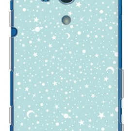SECOND SKIN - SPACE エメラルド (クリア) / for Xperia acro HD SO-03D/docomo