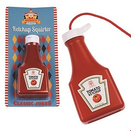 Rex London Trade and Wholesale - squirty ketchup bottle joke