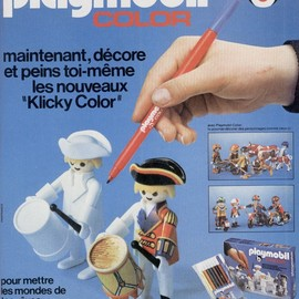 playmobil - Playmobil color (1978)