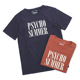 remi relief - TCSS×REMI=CAHOOTS(カフーツ)/PSYCHOSUMMERコットンTシャツ