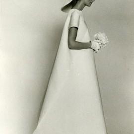 vintage Balenciaga wedding dress