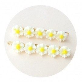 Love♡Letter - 【Handmade】Mini Daisy Hair Clip Set