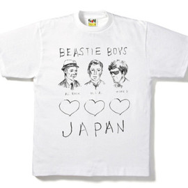 A BATHING APE® x BEASTIE BOYS - チャリティーTEE