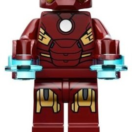 LEGO - Lego Hero's Ironman Mini Figure 2012 (Loose, Not a Set) Authentic Lego Mini Figure